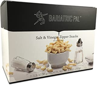 BariatricPal Protein Zipper Snacks - Salt and Vinegar