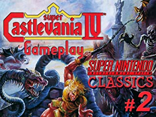 Clip: Super Castlevania IV Gameplay (SNES Classics 2)