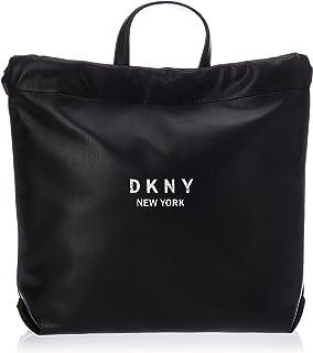 DKNY BAG R02KZI37 BLACK/WHITE
