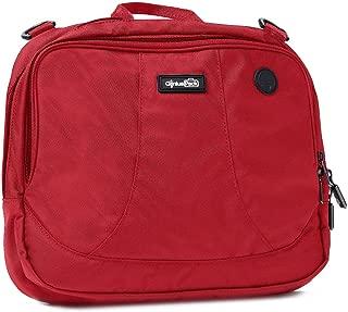 High Altitude Flight Bag -Patented Design Wraps Around Airplane Seat-Back Tray