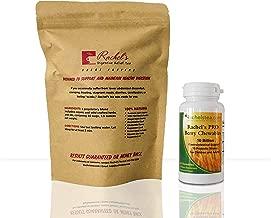 Rachel's Digestive Relief Tea diverticulitis Colitis Crohn's Specialty Tea Soothing Digestion with Berry Chewable 10 Billion Acid Resistant probiotic strains. Adults, Kids, Great Taste