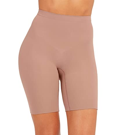 Spanx Power Shorts (Cafe Au Lait) Women