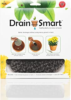 "Drain Smart 9"" Drainage Discs - Perfect for Indoor/Outdoor Potted Plants 
