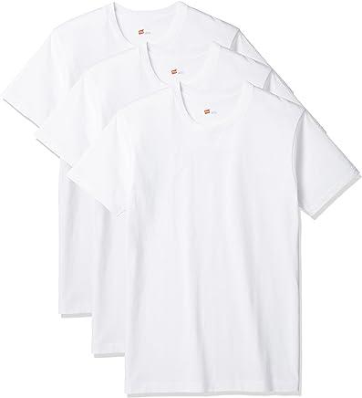 (ヘインズ)Hanes Tシャツ アオラベル クルーネック 3枚組 (最新モデル)