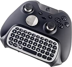 Elite Xbox One S Chatpad Mini Gaming Keyboard Wireless Chat Message KeyPad with Audio/Headset Jack for Xbox One X & Elite & Slim Game Controller Gamepad - 2.4GHz Receiver included