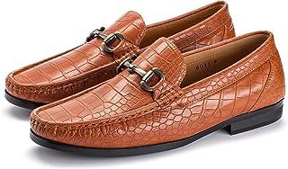 Sponsored Ad - Easy Strider Men's Loafer Shoes   Sleek Slip On Dress & Casual Shoes with Elegant Silver Metal Buckle   Ide...