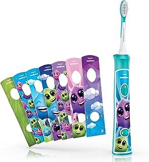 Philips 飞利浦 Sonicare For Kids HX6321/03 儿童声波电动牙刷 带蓝牙功能和教练应用程序