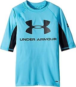UA Comp Short Sleeve Rashguard (Big Kids)