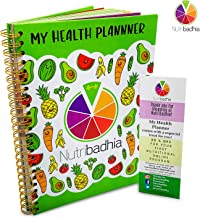 My Health Planner Stay Motivated be Inspired and Committed to Your Nutrition Portable Size 8 5 x 6 5 inch Certified by a Nutritionist Specialized in Weight Management Diabetes in UK Estimated Price : £ 14,99