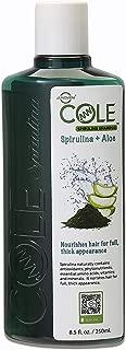 COLE Spirulina Shampoo with Aloe Vera (8.5 fl oz/250 ml) Hair Growth Superfood Shampoo