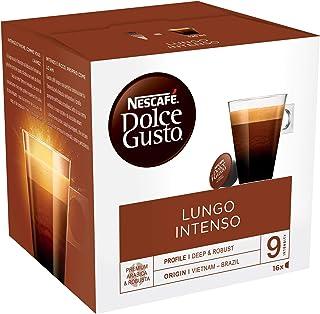 Nescafé Dolce Gusto Lungo Intenso - Café - 96 Capsules (Pack de 6 boîtes x 16) 864g