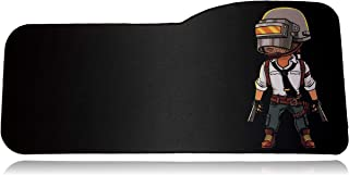 """PUBG Extended Size Custom Gaming Mouse Pad - Anti Slip Rubber - Stitched Edges - Large Desk Mat - 28.5"""" x 12.75"""" x 0.12"""" (..."""