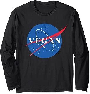 Vegan Logo NASA Retro T-Shirt