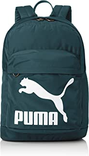 PUMA Fashion Backpack for Men - Polyester, Green (74799)