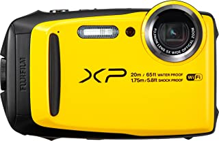 Fujifilm Finepix XP120 16.4MP, 20m UnderWater Digital Camera, Yellow