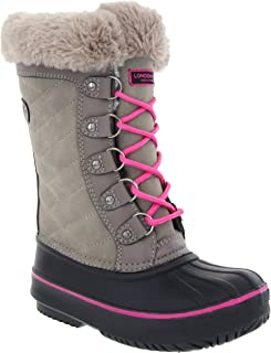 London Fog Girls Beckenham Cold Weather Snow Boot