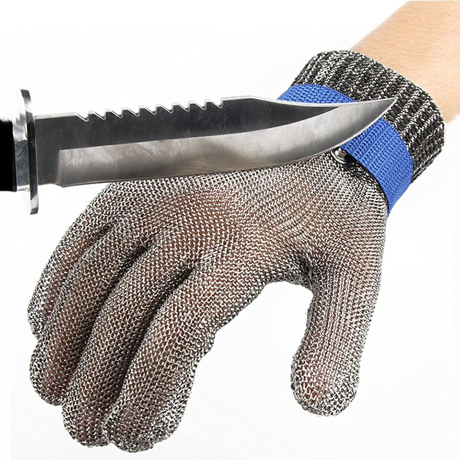 Cut Resistant Over item handling ☆ Glove Flyzy Stainless HPPE New product! New type for Metal Steel Butcher