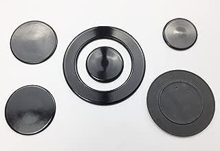 Kit spartifiamma fornelli anelli+piattelli STAR 4 fuochi 8pz