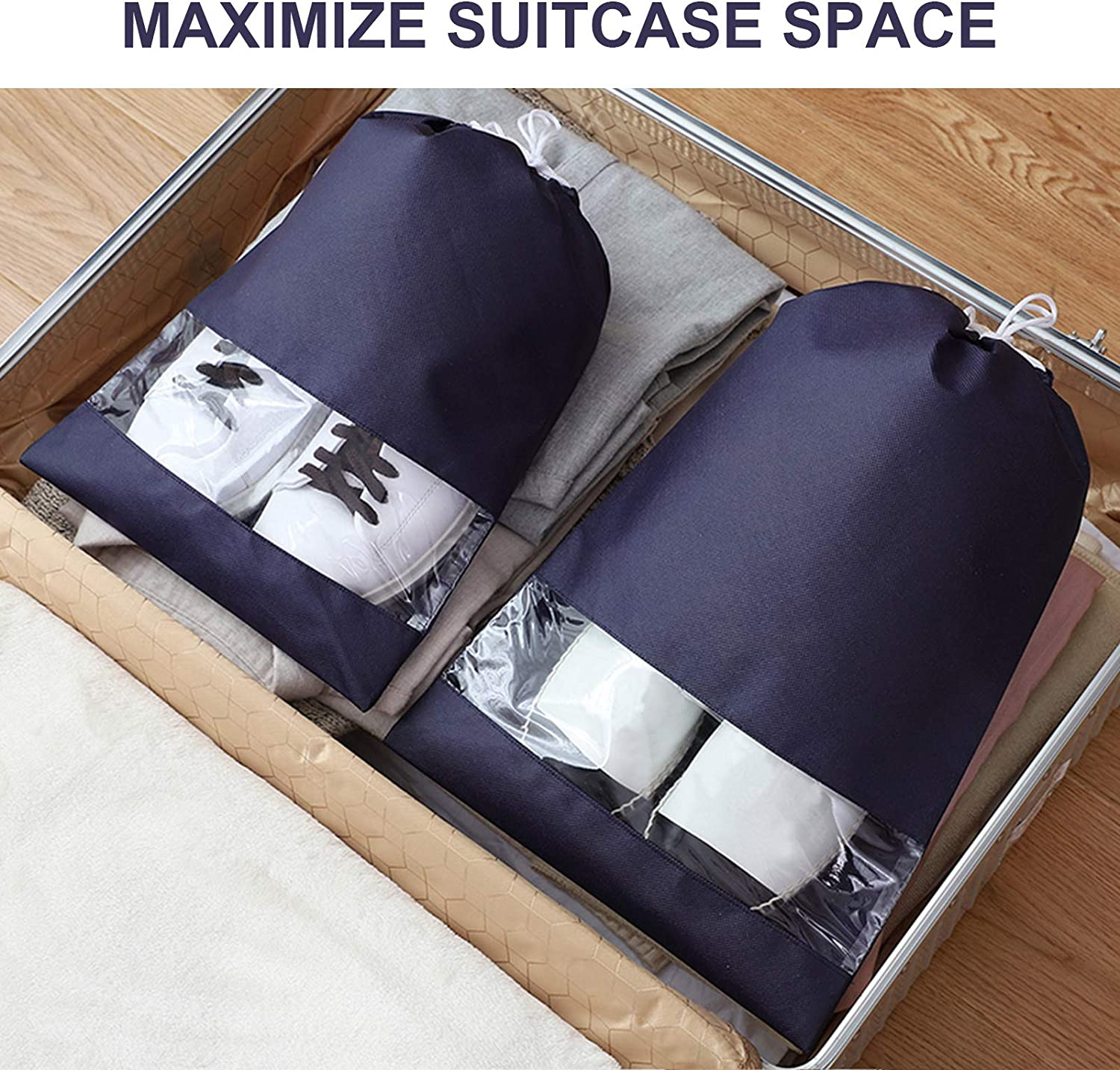 Shoes Storage Packing Organizers for Men Women FYY 8PCS Shoe Bags for Travel