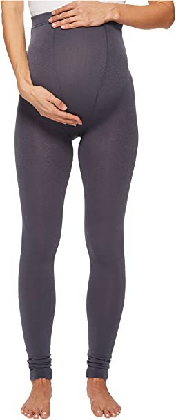 Maternity Fleece-Lined Footless Tights