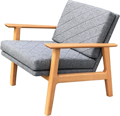 Amazon.com: Lewis Interiors – Silla de salón danesa moderna ...