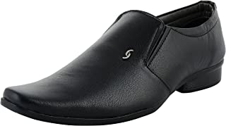 DECENT Men's Leather Look Formal Shoes