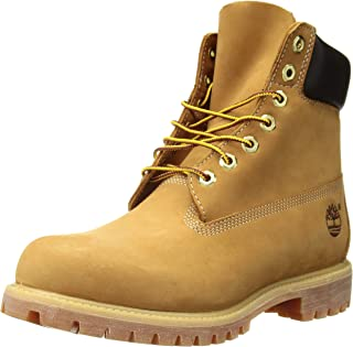 Mens 6 Inch Prem Wheat Boot 9.5 Tan