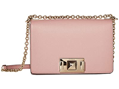Furla Mimi Mini Crossbody (Rosa Antico) Handbags