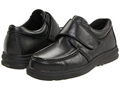 Hush Puppies Gil (Black Leather) Men