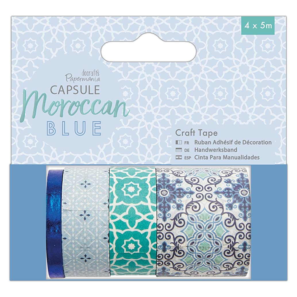 Papermania Capsule Craft, Tape, Blue, 9.5 x 9 x 4 cm