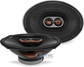 "Infinity REF-9623ix 300W Max 6"" x 9"" 3-Way Car Audio Speaker with Edge-Driven,.."