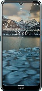 هاتف نوكيا 2.4 ثنائي شرائح الاتصال - 32 جيجا بايت، ذاكرة رام 2 جيجا بايت، شبكة ال تي اي الجيل الرابع لون ازرق