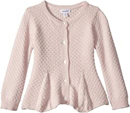 Peplum Cardigan (Infant/Toddler)
