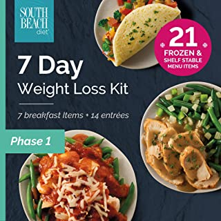 South Beach Diet® Phase 1 Frozen + Ready-to-go 7-Day Weight Loss Kit - Keto-Friendly!