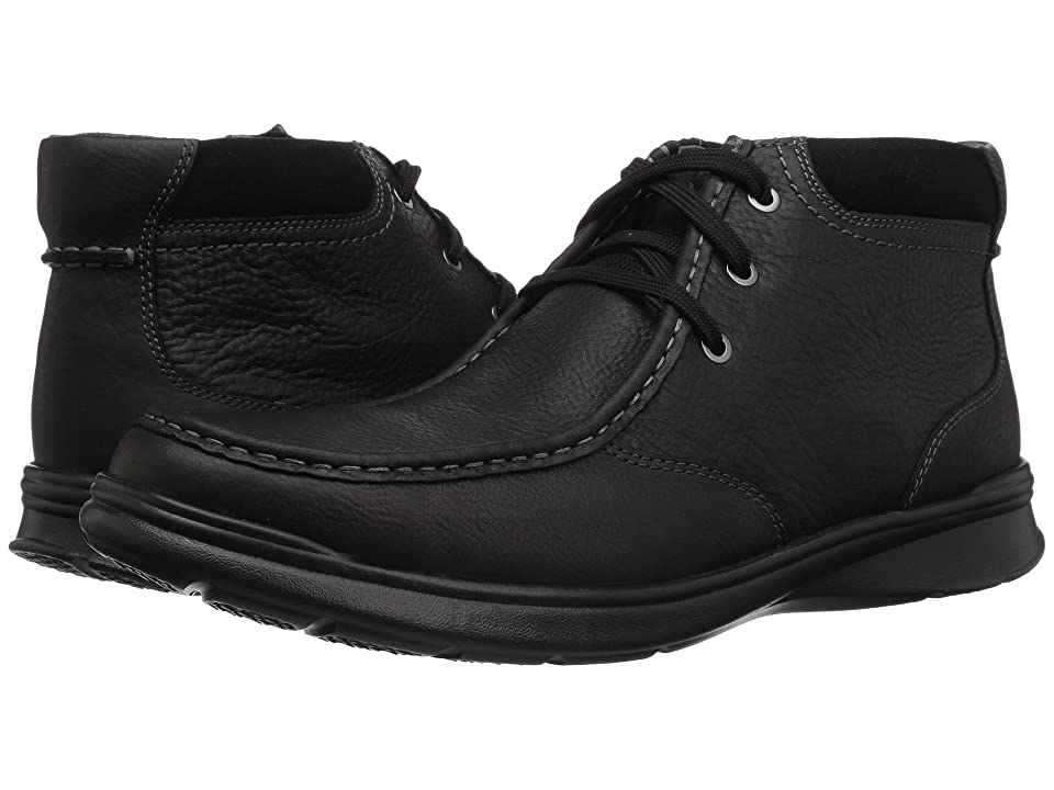 Clarks Cotrell Top (Black Oily Leather) Men