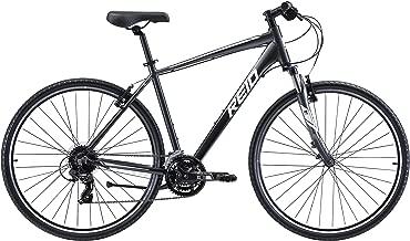 REID Unisex Adult L City 2 Commuter and Folding Bike - Charcoal/Silver, 130 x 40 x 20