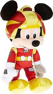 Disney Plush Roadster Mickey Racing - 10 inch