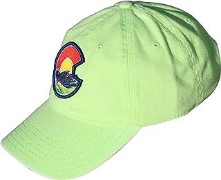 neon dad hat