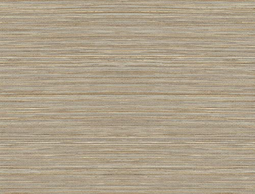 popular Lillian August Luxe Haven Luxe Sisal Peel and Stick outlet online sale Wallpaper (Pashmina & Metallic online sale Silver) online sale