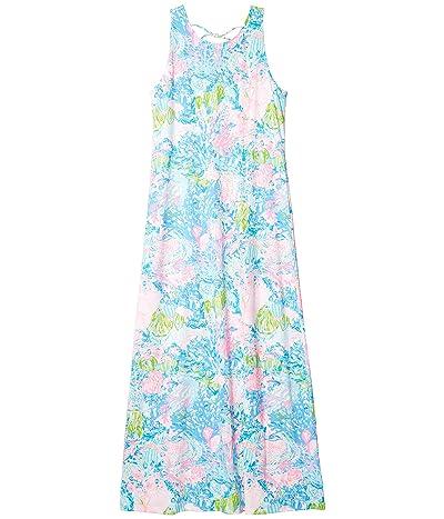 Lilly Pulitzer Marcella Maxi Dress (Multi Fished My Wish) Women