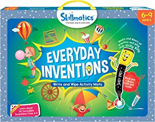 Educational Game : Everyday Inventions 6-9 Years STEM Learning Creative Fun Activities, Skillmatics