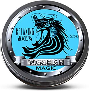 Bossman Relaxing Beard Balm - Nourish, Thicken and Strengthen Your Beard (Magic)