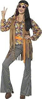 Women's 60s Singer Costume, Female, with Top, Waistcoat