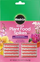Miracle-Gro 1003661 Orchid Plant Food Spikes, Single, Brown/A