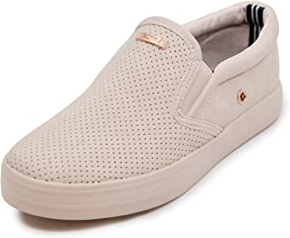Nautica Kid's Girls Youth Slip-On Casual Shoe Canvas Sneaker-Akeley-Mineral Pink-3