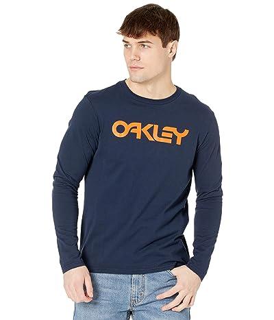 Oakley Mark II Long Sleeve Tee (Fathom) Men