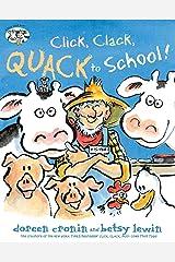 Click, Clack, Quack to School! (A Click Clack Book) Kindle Edition