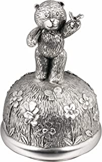 Royal Selangor Hand Finished Teddy Bear's Picnic Collection Pewter Catching Butterflies Musical Carousel