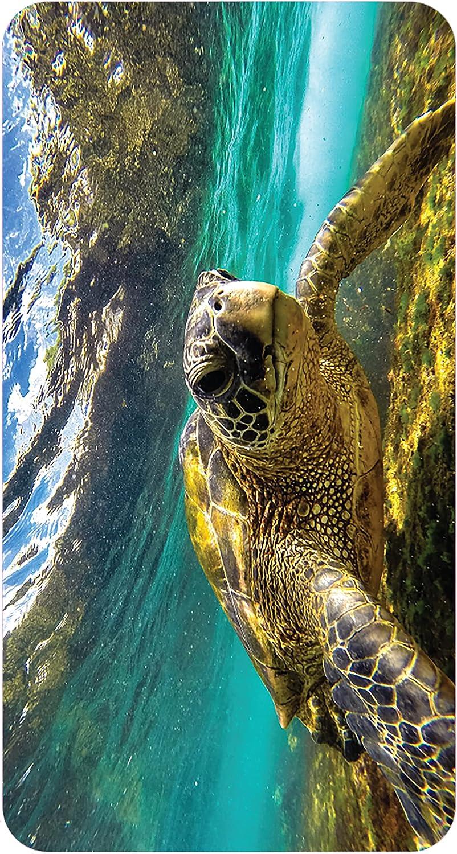 No Slip Mat by Versatraction Finally popular brand Sea Turtle Grip Save money Bath Kahuna 14x27 2