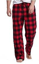 Sahara Men's 100% Cotton Plaid Flannel Pajama Pants - Classic Design for Comfortable Wear